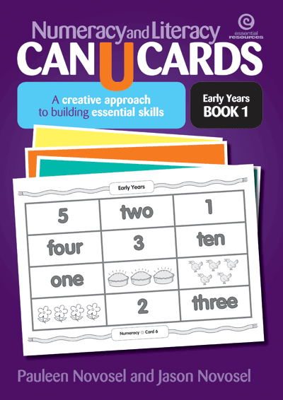 Numeracy & Literacy CAN U CARDS Cover