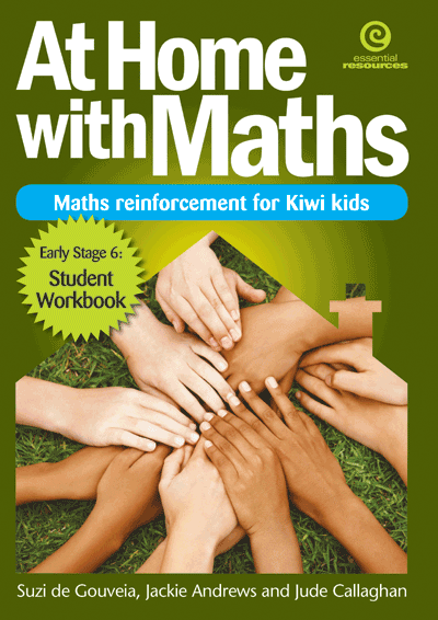 At Home with Maths - Reinforcement for Kiwi kids (E.Stg 6) Cover