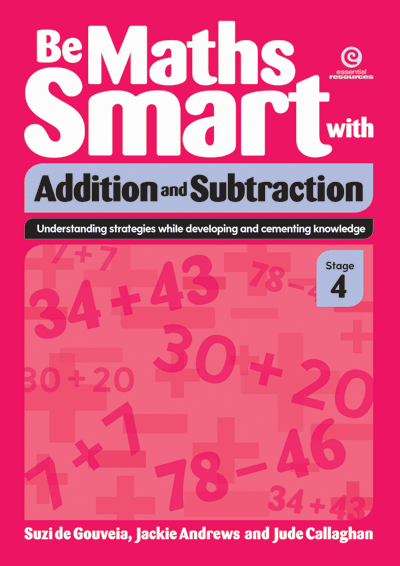 Be Maths Smart with Addition and Subtraction, Stage 4 Cover