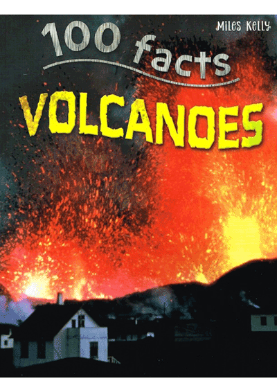 100 Facts - Volcanoes Cover