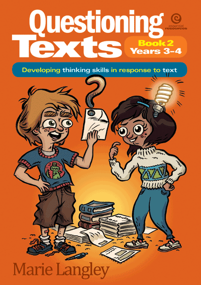 Questioning Texts Bk 2 Yrs 3-4 Cover