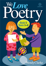 We Love Poetry Bk 1 Yrs 1-2