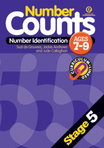 Number Counts: Number identification (Stage 5)