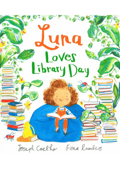 Luna Loves Library Day Cover