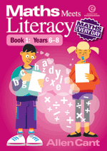 Maths Every Day: Maths Meets Literacy: Bk 1: Years 6-8