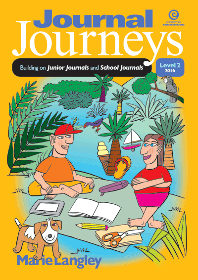 Journal Journeys, Level 2, 2016 Cover