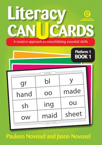 Literacy CAN U CARDS Platform 1 Bk 1 Cover