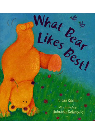 What Bear Likes Best Cover