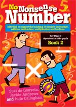 No Nonsense Number: KS 1 for older pupils Bk 2