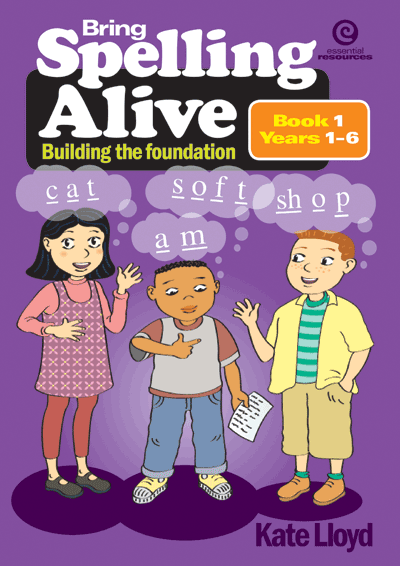 Bring Spelling Alive Bk 1 Yrs 1-6 Cover