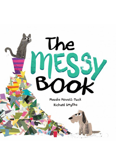 The Messy Book Cover