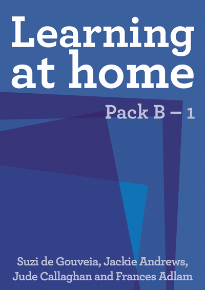 Learning at Home: Pack B – 1 Cover