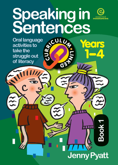 Speaking in Sentences Bk 1 (Ys 1-4) Cover