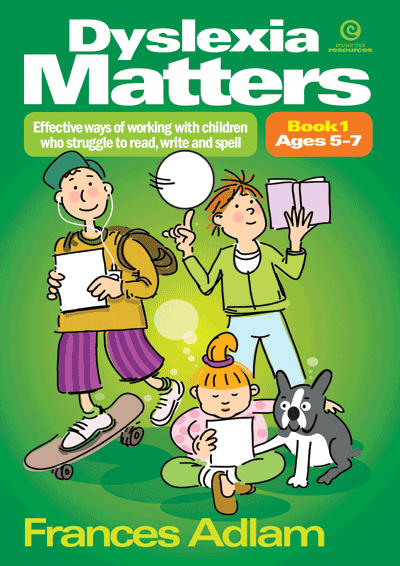 Dyslexia Matters Bk 1 Ages 5-7 Cover