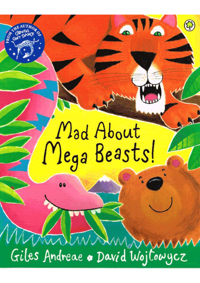 Mad about mega beasts Cover