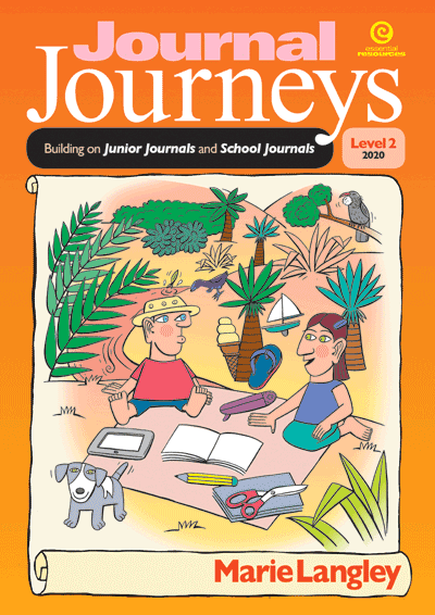 Journal Journeys, Level 2, 2020 Cover