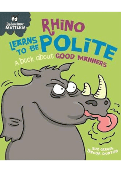 Behaviour Matters! Rhino learns to be polite Cover
