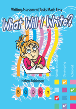 What Will I Write? Book 1