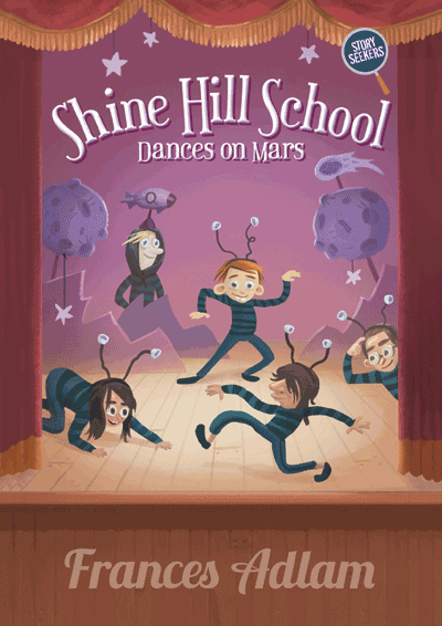 Shine Hill School Dances on Mars Cover