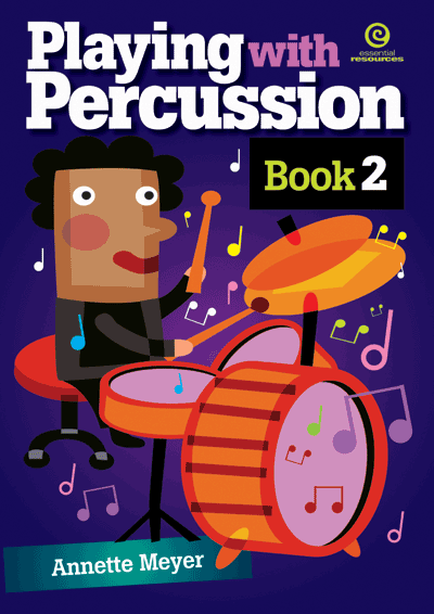Playing with Percussion Bk 2 Cover
