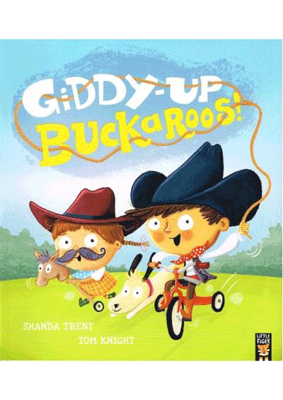 Giddy-up Buckaroos! Cover