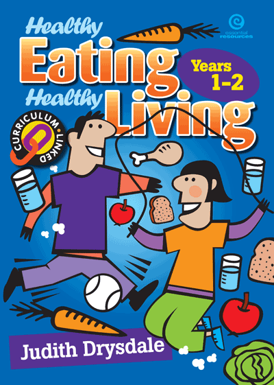 Healthy Eating, Healthy Living Bk 1 Cover