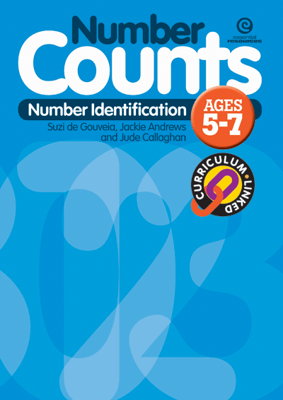 Number Counts: Number identification (Stages 1-3) Cover