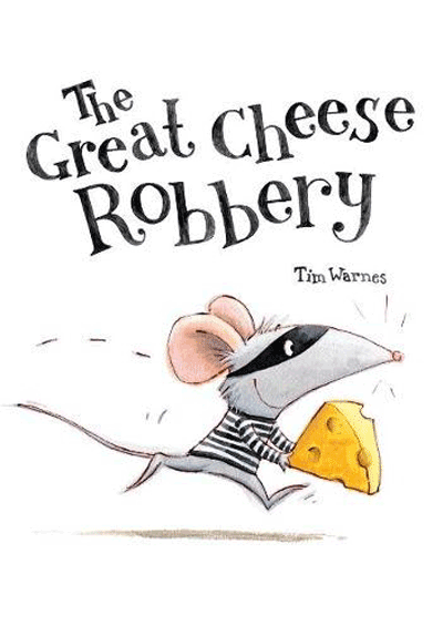 The Great Cheese Robbery Cover