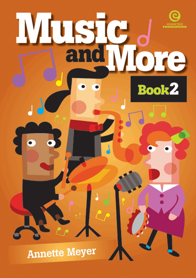 Music and More: Bk 2 & Digital Music Files Cover