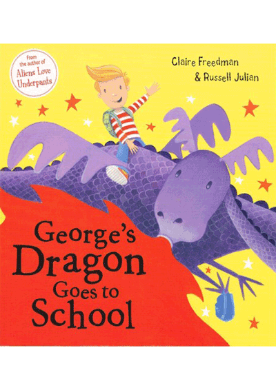 George's Dragon goes to School Cover