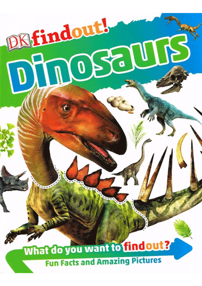 DK Findout! - Dinosaurs Cover