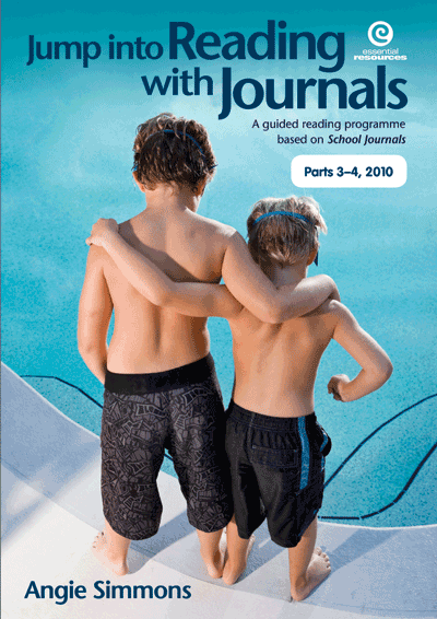 Jump into Reading with Journals Pt3-4, 2010 Cover