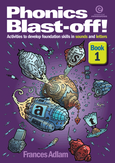 Phonics Blast-off! Bk 1 Cover