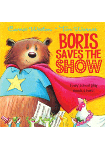 Boris Saves the Show Cover