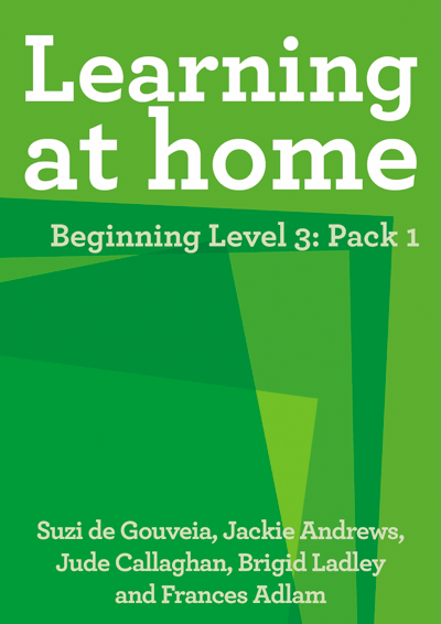 Learning at Home – Beginning Level 3: Pack 1 Cover