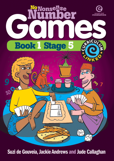 No Nonsense Number Games Bk 1: Stage 5 Cover