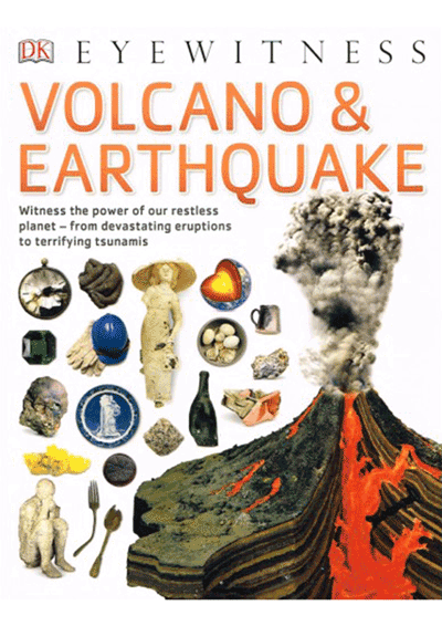 DK Eyewitness - Volcano & Earthquake Cover