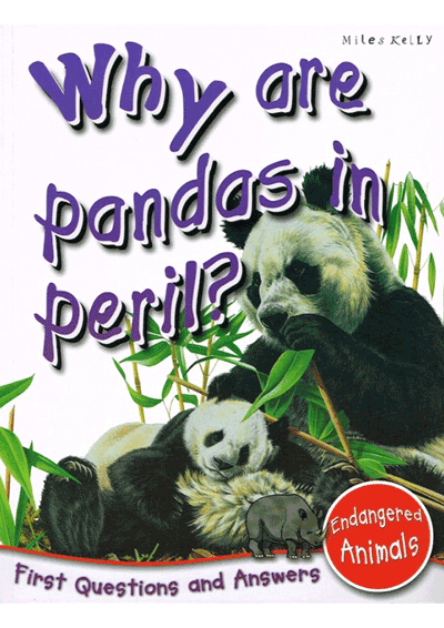 Why are pandas in peril? Cover