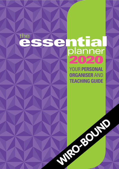 The Essential Planner 2020 Wiro-bound Cover