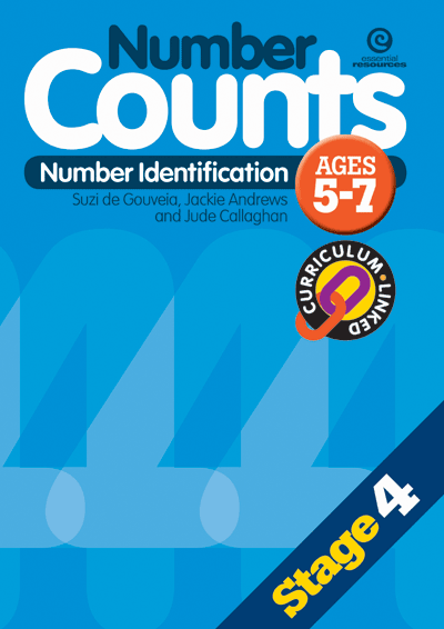 Number Counts: Number identification (Stage 4) Cover