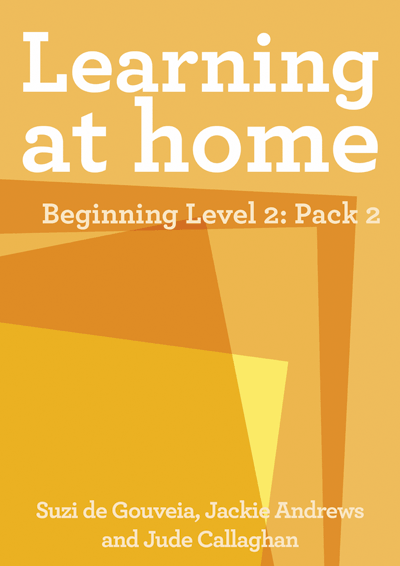 Learning at Home – Beginning Level 2: Pack 2 Cover