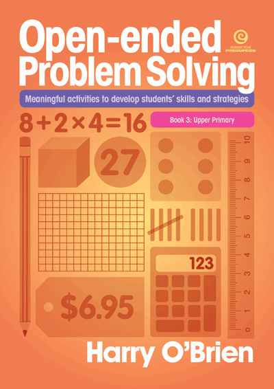 Open-ended Problem Solving: Bk 3 Upper Primary Cover