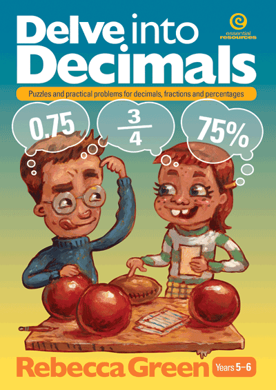 Delve into Decimals Cover