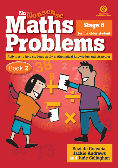 No Nonsense Maths Problems for Older Students Bk 2 Cover