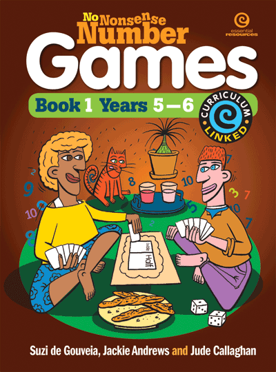 No Nonsense Number Games Bk 1 (Ys 5-6) Cover