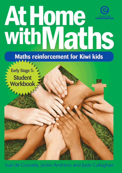 At Home with Maths - Reinforcement for Kiwi kids (E.Stg 5) Cover