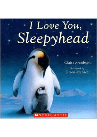 I Love you Sleepyhead Cover