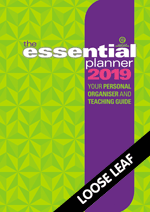 The Essential Planner 2019 Loose leaf