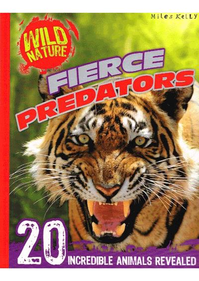 Wild Nature Fierce Predators Cover