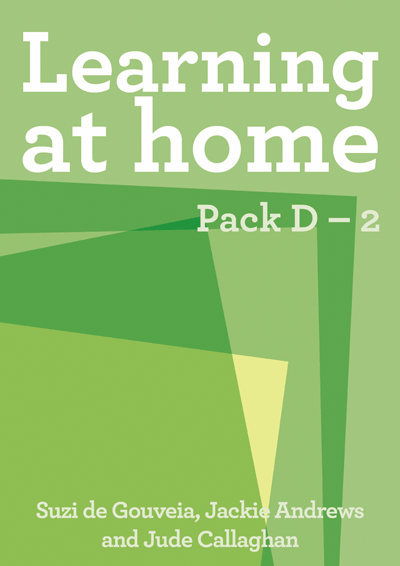 Learning at Home: Pack D – 2 Cover